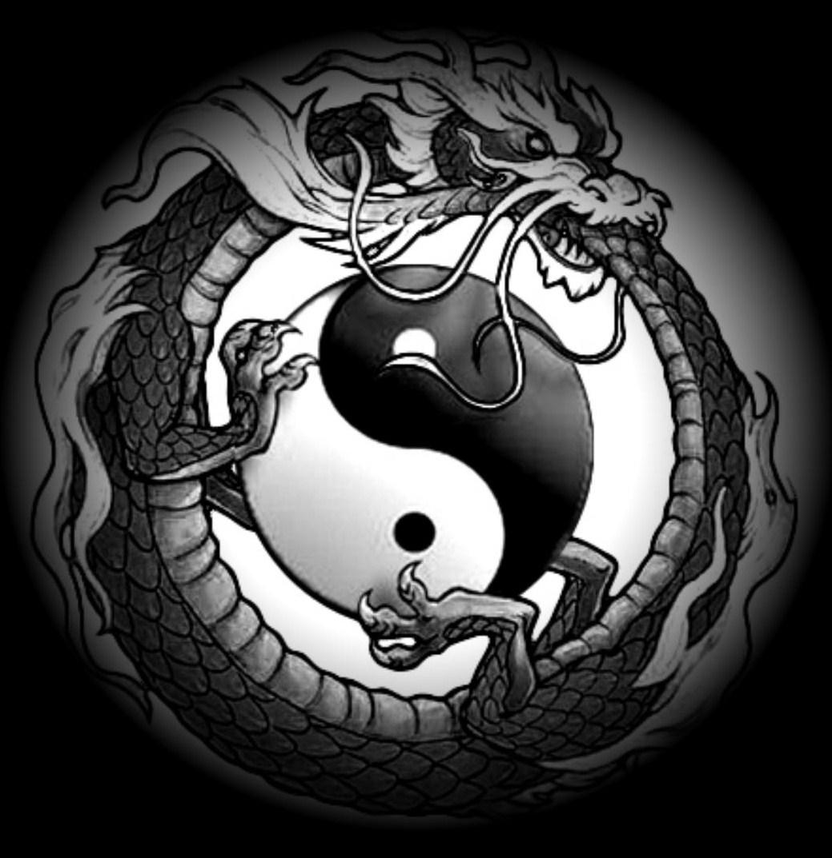 Taoism Symbols Dragon: UnbornMind Zen